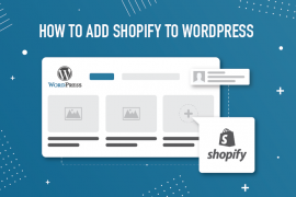integrate shopify with wordpress