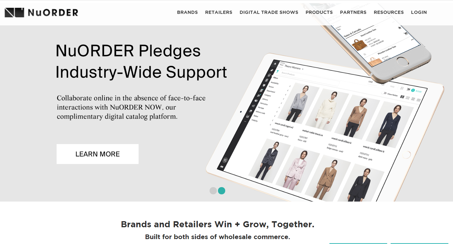 NuORDER - top b2b eCommerce platforms