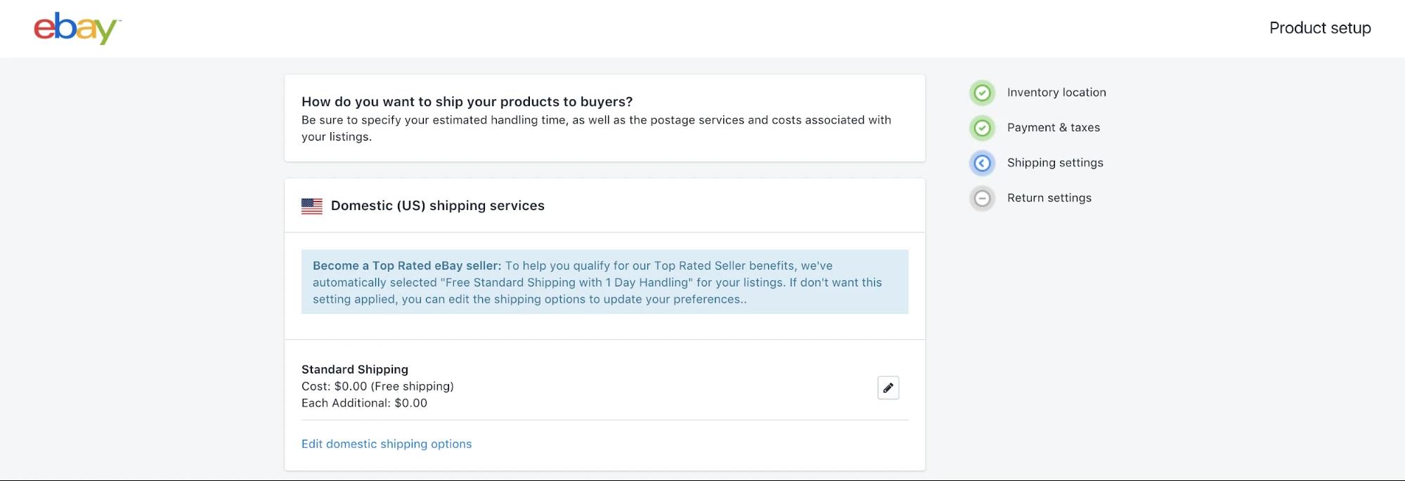 Configure your eBay policies - Shopify eBay integration