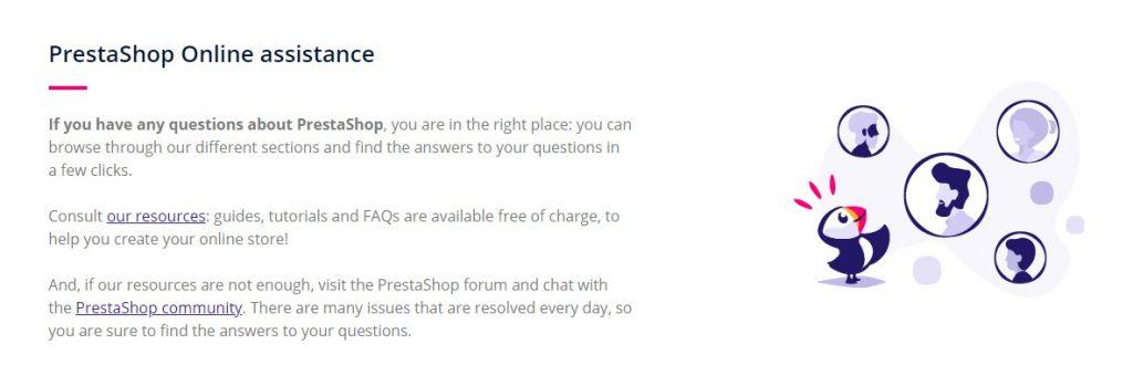 PrestaShop Online Assistance (OpenCart vs PrestaShop)